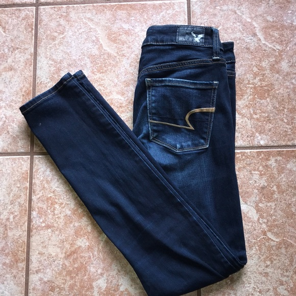 American Eagle Outfitters Denim - Dark wash American Eagle skinny jeans